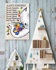 Autism Awareness Always Remember Poster  24x36 Poster lifestyle-holiday-poster-2