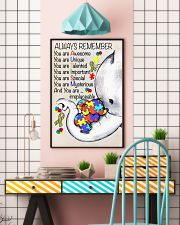 Autism Awareness Always Remember Poster  24x36 Poster lifestyle-poster-6