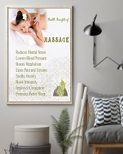 Massage Therapy for health 11x17 Poster lifestyle-poster-1