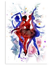 Ballet Ballerina Gift 11x17 Poster front