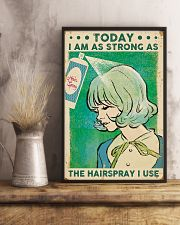 Hairdresser Strong As Hairspray 11x17 Poster lifestyle-poster-3