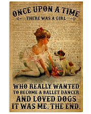 Ballet Dancer Once Upon A Time 11x17 Poster front