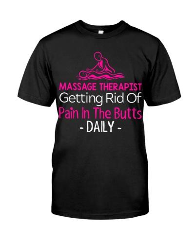 Massage Therapist getting rid of pain daily