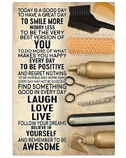 Hairdresser Today Is A Good Day 11x17 Poster front