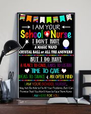 I am your school Nurse Poster 11x17 Poster lifestyle-poster-2