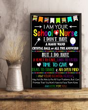 I am your school Nurse Poster 11x17 Poster lifestyle-poster-3