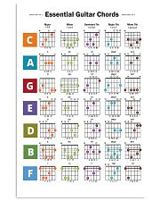 Essential Guitar Chords 11x17 Poster front