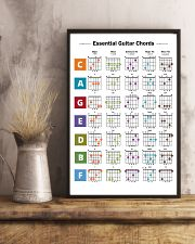 Essential Guitar Chords 11x17 Poster lifestyle-poster-3