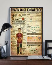 Pharmacist Knowledge 11x17 Poster lifestyle-poster-2