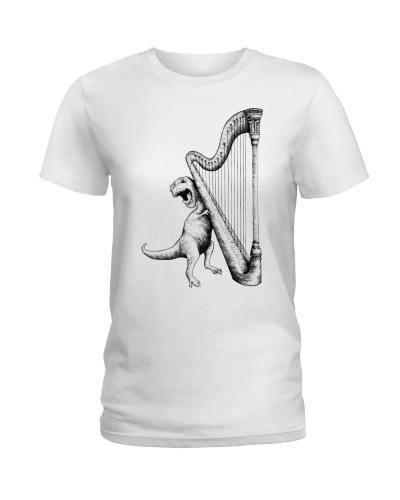 Dinosaurs Play Harp