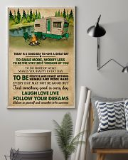 Camping Today Is A Good Day 11x17 Poster lifestyle-poster-1
