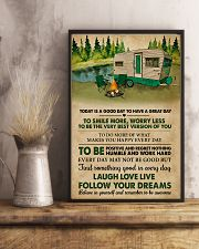 Camping Today Is A Good Day 11x17 Poster lifestyle-poster-3