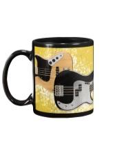 Bass Guitar Yellow Images Mug back