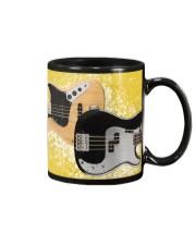 Bass Guitar Yellow Images Mug front