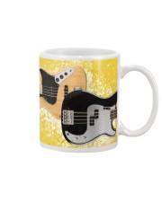 Bass Guitar Yellow Images Mug tile