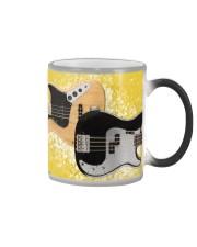 Bass Guitar Yellow Images Color Changing Mug thumbnail