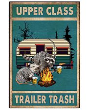 Camping Upper Class Trailer Trash 11x17 Poster front