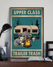 Camping Upper Class Trailer Trash 11x17 Poster lifestyle-poster-2