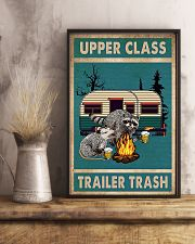 Camping Upper Class Trailer Trash 11x17 Poster lifestyle-poster-3