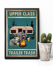 Camping Upper Class Trailer Trash 11x17 Poster lifestyle-poster-8