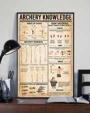 Archery knowledge 11x17 Poster lifestyle-poster-2