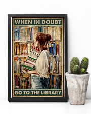 Librarian When In Doubt Go To The Library 11x17 Poster lifestyle-poster-8