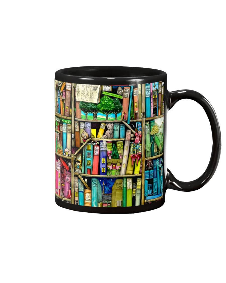 Fairy Book Houses Mug
