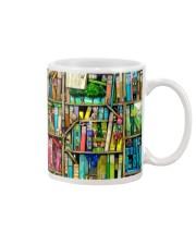 Fairy Book Houses Mug tile