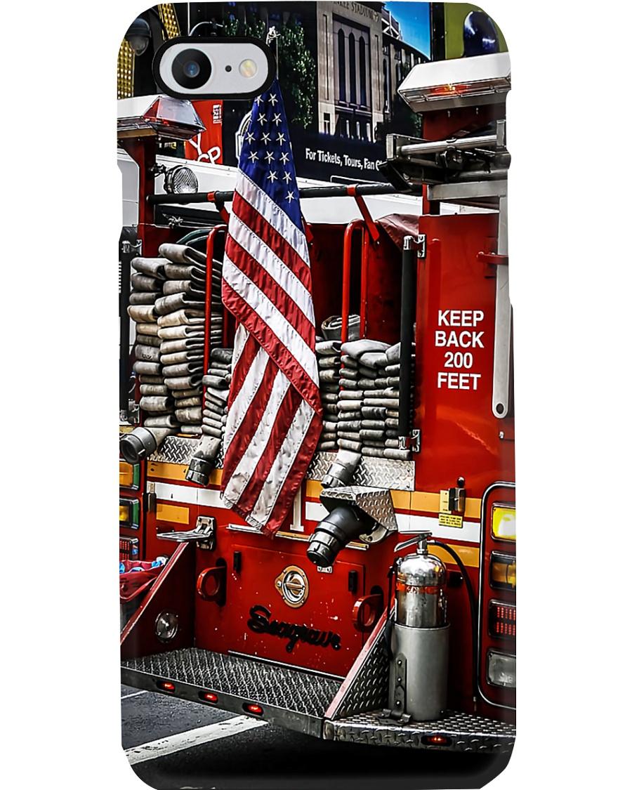 Firefighter Fire Truck Phone Case