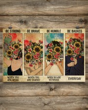 Social Worker Be Humble 17x11 Poster aos-poster-landscape-17x11-lifestyle-14