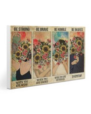Social Worker Be Humble 30x20 Gallery Wrapped Canvas Prints thumbnail