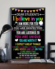 Teacher Dear Students 11x17 Poster lifestyle-poster-2