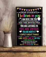 Teacher Dear Students 11x17 Poster lifestyle-poster-3
