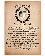 A Prayer for Accountants 11x17 Poster front