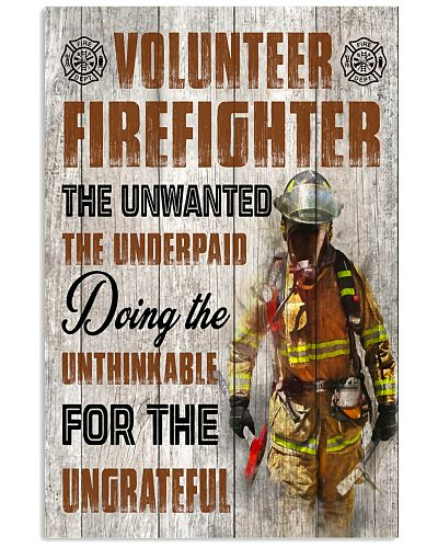 Firefighter Volunteer Firefighter The Unwanted