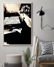Pianist Gift Girl Playing Piano 11x17 Poster lifestyle-poster-1