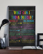 Think Instead Teacher  11x17 Poster lifestyle-poster-2