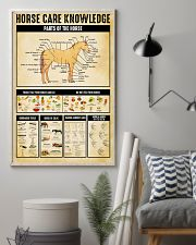Horse Girl Horse Care Knowledge 11x17 Poster lifestyle-poster-1