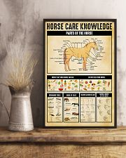 Horse Girl Horse Care Knowledge 11x17 Poster lifestyle-poster-3