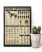 Farmer Horse Knowledge 11x17 Poster lifestyle-poster-8