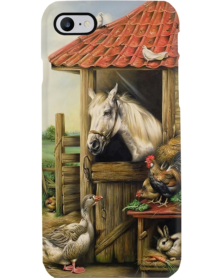 Farmer Cute Animals Phone Case