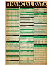 Accountant Financial Data 11x17 Poster front