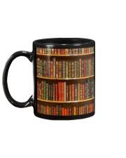 Book Lovers Vintage Books Mug back