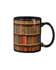 Book Lovers Vintage Books Mug front