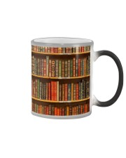 Book Lovers Vintage Books Color Changing Mug thumbnail