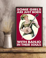 Girls With Banjo In Their Soul 11x17 Poster lifestyle-poster-3