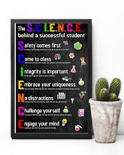 The Science Behind Successful Student Teacher  11x17 Poster lifestyle-poster-8