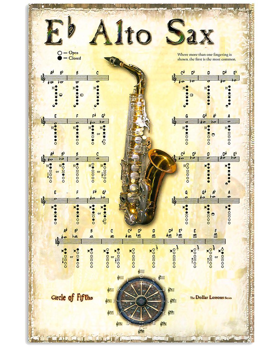 Saxophone Alto Sax 11x17 Poster
