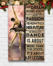 Ballet Her Dream Becomes Reality  11x17 Poster aos-poster-portrait-11x17-lifestyle-23