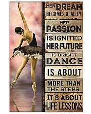 Ballet Her Dream Becomes Reality  11x17 Poster front